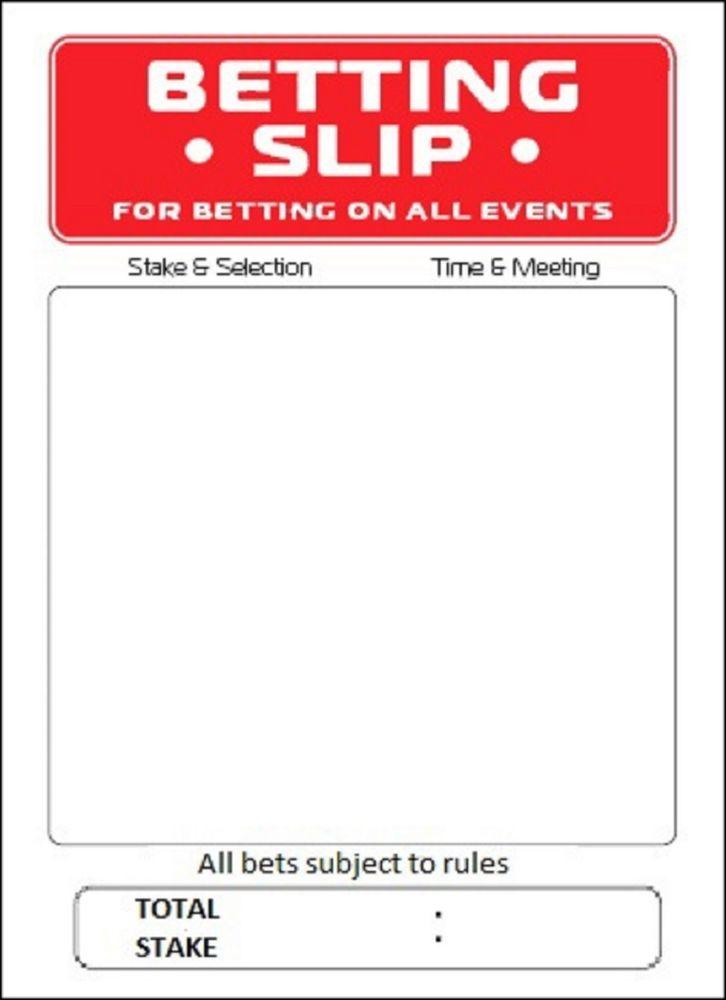 Betting slip template fa vase betting